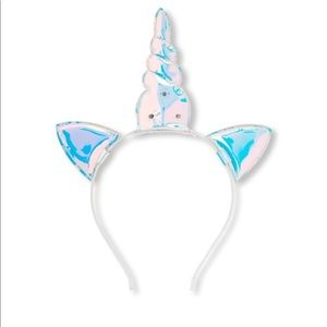 🆕🦄Girl's Holographic Light-Up Unicorn Headband